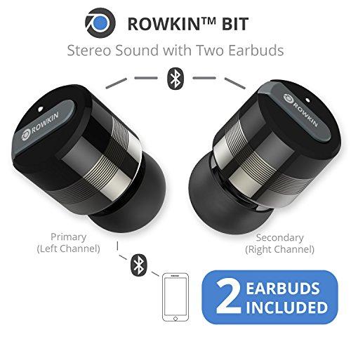 183cf66a862 Rowkin Bit Charge Stereo Truly Wireless Headphones w/ Portable ...